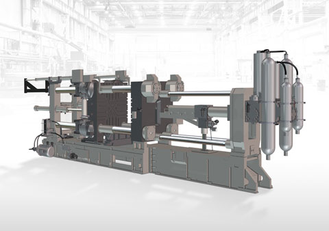 Italpresse Gauss die casting equipment